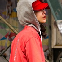 UNISEX NEW TWO TONE BASEBALL CAP aaa047u(Red)