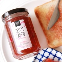[우리꽃연구소] 장미 꽃잼 / 무설탕 천연 수제 잼