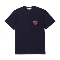 [8/30출고] NOMANTIC WAPPEN 1/2 T-SHIRT NAVY