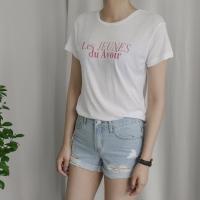 워싱 나염 티셔츠 (3-COLORS)