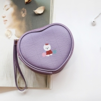 D.LAB Heart Pouch - animal pattern 5 color