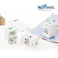 인트래블 USB멀티플러그 듀얼포트 NO.1106