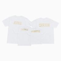 가족티셔츠_WHITE&GOLD
