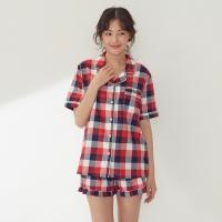 Romantic check pajama(pink) / RMPP726GM1