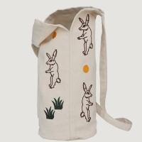 moon rabbit pot bag