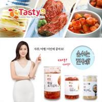 이보영의 테이스티나인 먹기편한 김치 세트(매실포기+백김치+깍두기)