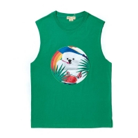 SUNSET DOG PATCH SLEEVELESS GREEN