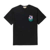 [8/25출고] FLAMINGO DOG 1/2 T-SHIRT BLACK