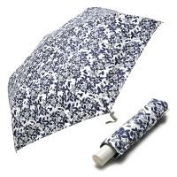 [rain s.] 레인스토리 3단슬림 수동우양산 - 블라썸 (블루)