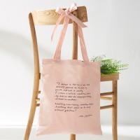 [Ro-Co Bag] 로맨틱 리본 에코백(L/Pink) RMAK724GM2