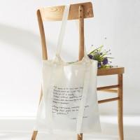 [Ro-Co Bag] 로맨틱 리본 에코백(Ivory) RMAK724GM2