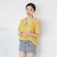 [마이블린] 여리핏 빅카라 반팔 셔츠 (3color)_(501307)