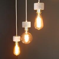 [바이빔][LED] 에즈 3등 펜던트-에디슨
