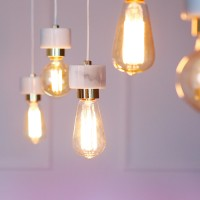 [바이빔][LED] 에즈 5등 펜던트-에디슨