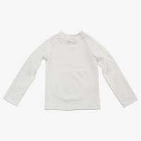[키썸플레이] 심플 티셔츠 래쉬가드 - 아이보리