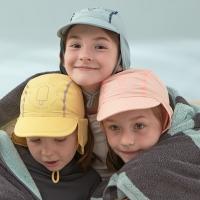 자외선차단 유아 아동 수영모자/플랩캡 (4color)