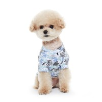 BENNYS HAWAIIAN SLEEVE T - SHIRE _ (BLUE)