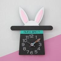 [코벳] Guess Who? Rabbit! 무소음 벽시계