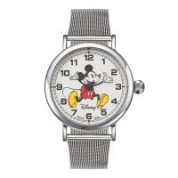 디즈니 미키마우스 커플 메탈밴드 손목시계 OW095SV