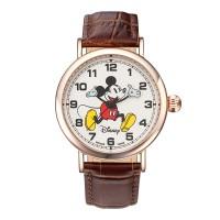 디즈니 미키마우스 커플 가죽밴드 손목시계 OW095RG