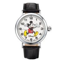 디즈니 미키마우스 커플 가죽밴드 손목시계 OW095BK