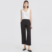 slim up simple slacks_(630230)
