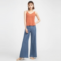 vintage long wide denim pants (2 colors)_(630274)