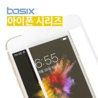 베이식스 3D 풀커버 강화유리필름(아이폰7/7+)