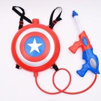 마블 캡틴아메리카 배낭물총