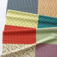 [Fabric] Feed Pattern Flower 8 in 1 illust cut (피드 패턴 린넨)