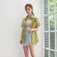 Linen cabra shirt