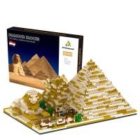 YZ059 나노블럭 유명건축물 피라미드