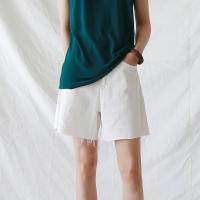 Natural cotton shorts