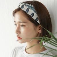 ethnic blue hairband