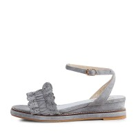 kami et muse Punching frill mini wedge sandals_KM17s272