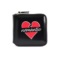 NOMANTIC LOGO 1/2 PATENT WALLET