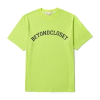 BASIC LOGO 1/2 TS LIME