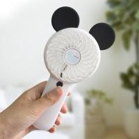 마쉬멜로우 마우스 대용량 충전식 핸디 선풍기