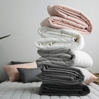 네추럴 피그워싱 양면누빔 침대패드-5color 싱글퀸킹(SQK)