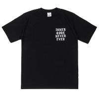 [네버에버] BURN LIKE CORE T (BLACK) 반팔티_(671726)