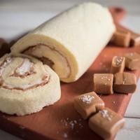 [안심간식 하라롤]두유케이크 솔트카라멜 롤케익