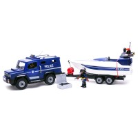 플레이모빌 경찰트럭과 스피드보드(5187)