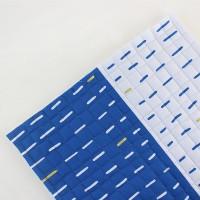 [Fabric] 1인치사각퀼팅_블루스틱 앤 골드 2in1