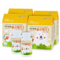 보령[아이순수]키즈톡톡 츄어블오메가3(45캡슐x2병) 2세트(2개월분)