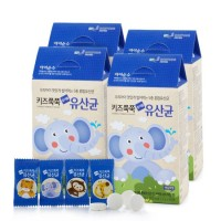 보령[아이순수]키즈쭉쭉 츄어블 유산균 60정 3박스(6개월분)