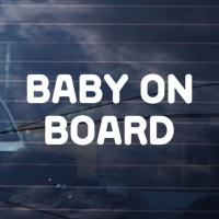 BABY ON BOARD / 자동차 레터링 스티커