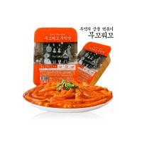 무꼬뭐꼬 떡볶이 3팩 + 야끼만두 + 맛도그