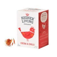 하이어리빙[HIGHER LIVING] 유기농 코코아&칠리 TEA
