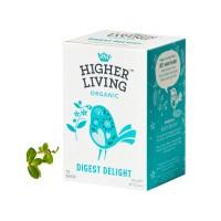 하이어리빙[HIGHER LIVING] 유기농 다이제스트 딜라이트 TEA