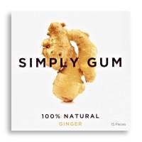 SIMPLY GUM 심플리껌 GINGER (진저)